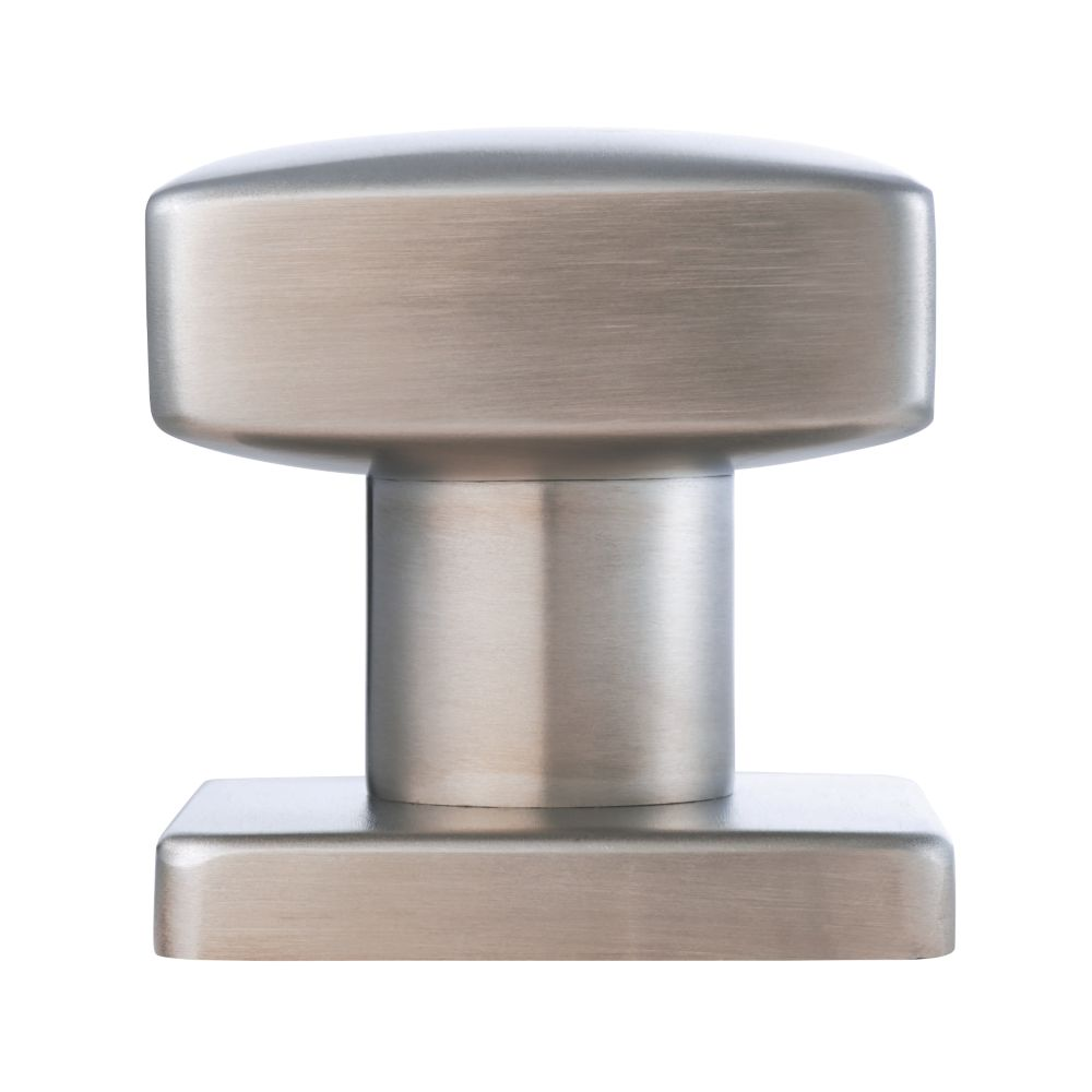 Image of Eurospec Centre Door Knob Satin Stainless Steel 63mm