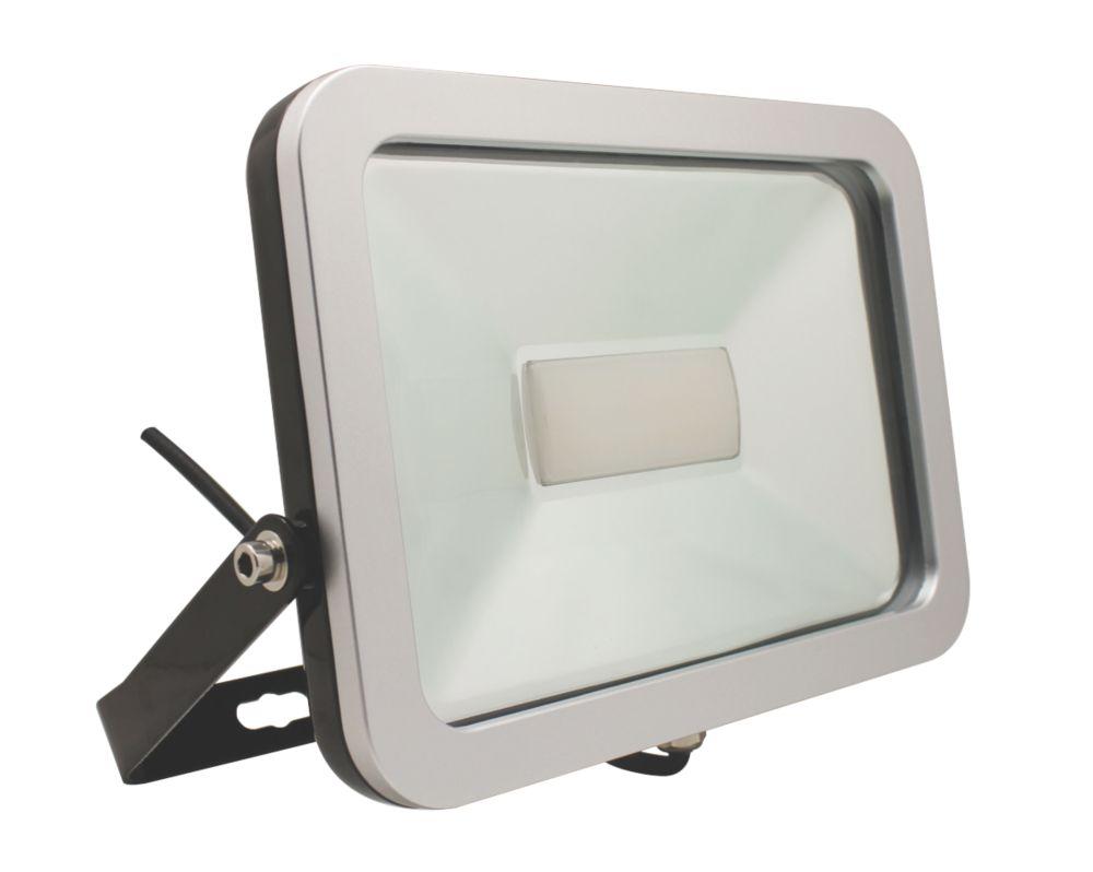 Brackenheath ispot Driverless LED Floodlight 50W Black