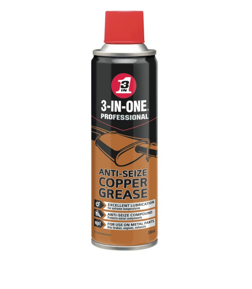 3-in-1 Oil Anti-Seize Copper Grease 300ml