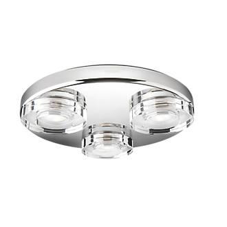 Philips Mira Led Bathroom Ceiling Light Chrome 880lm 56w Led Bathroom Lights Screwfix Com