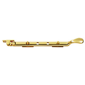 Carlisle Brass Victorian Casement Stay Polished Brass 305mm