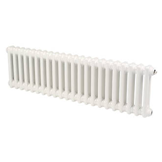 Acova Classic 2Column Horizontal Radiator White 292 x 812mm 1373BTU
