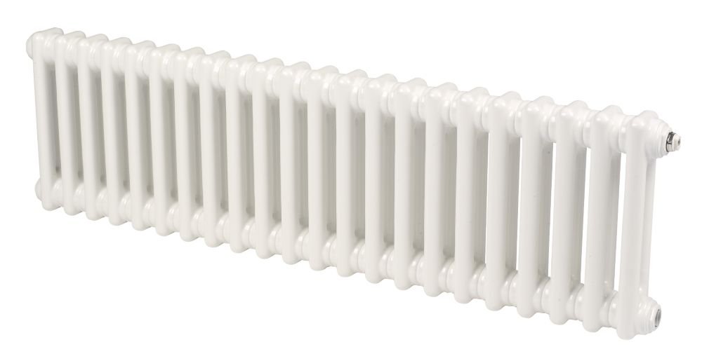 Acova Classic 2-Column Horizontal Radiator White 292 x 812mm 1373BTU