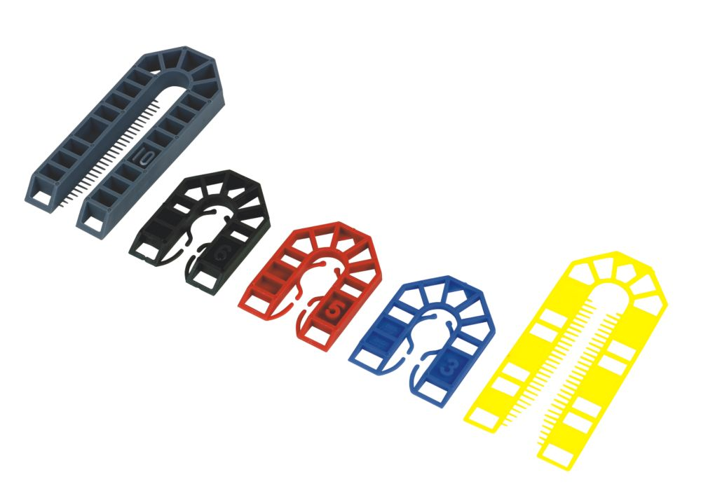 Broadfix Assorted Plastic Shims Medium x x 200 Pcs