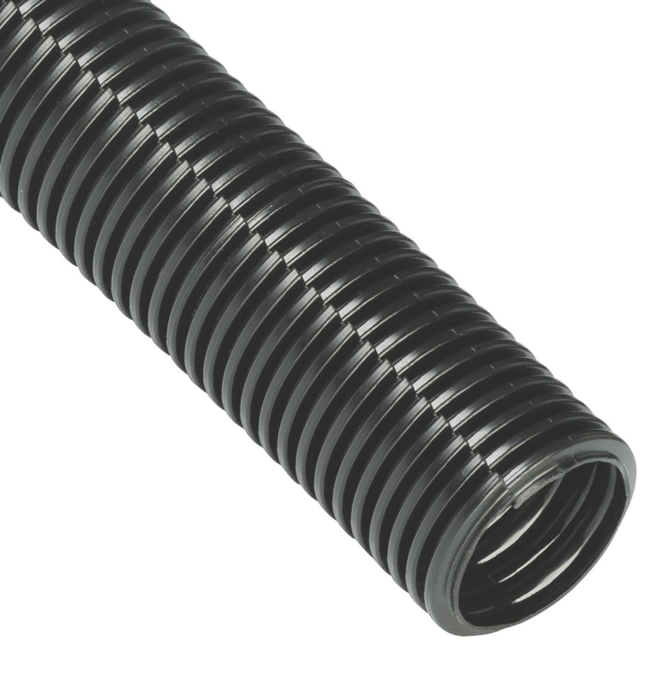 Cable Tidy Tube Black 32mm x 1.1m