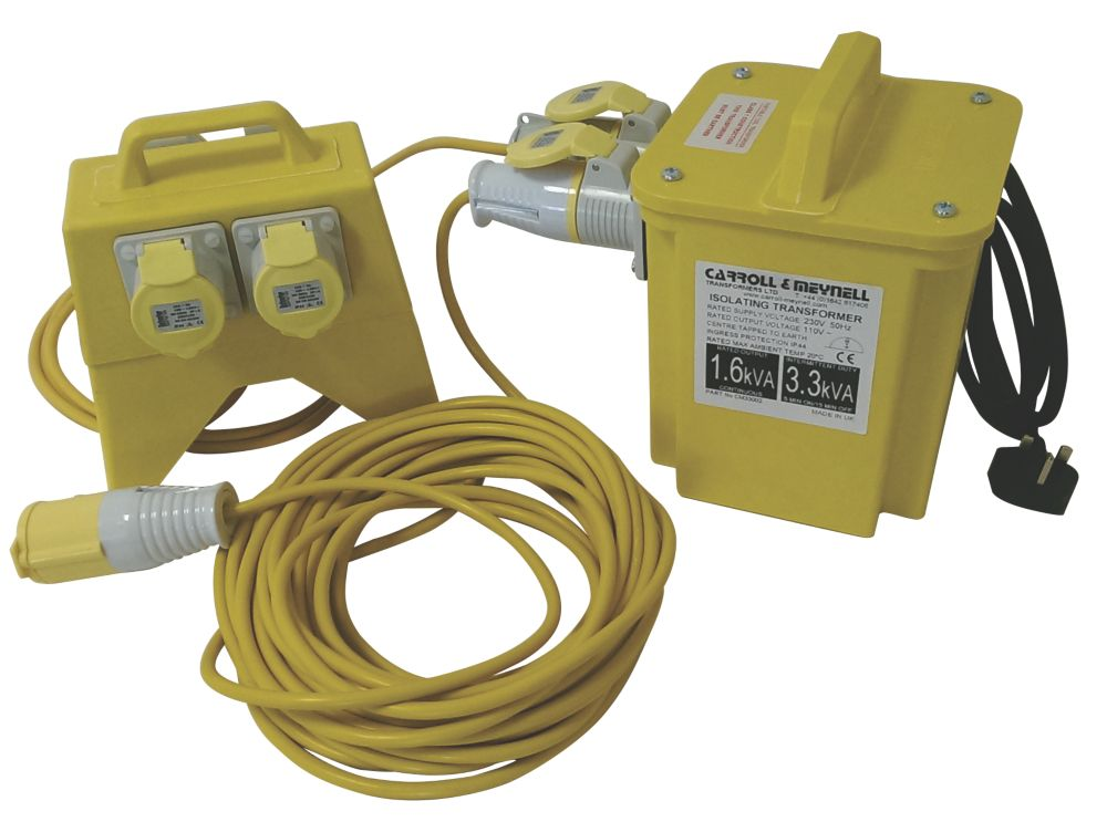 Carroll and Meynell Transformers 110V Site Distribution Kit 3kVA
