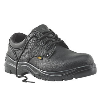 Site Coal Safety Shoes Black Size 12.