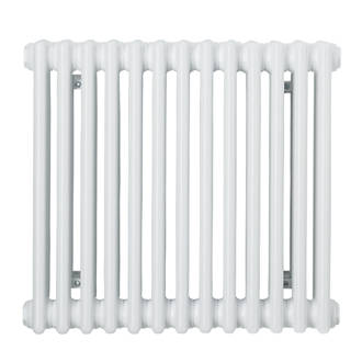 Acova Classic 3Column Horizontal Radiator White 500 x 628mm 2290BTU