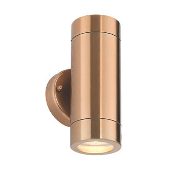 Saxby Odyssey Copper Plate Wall Light 35W