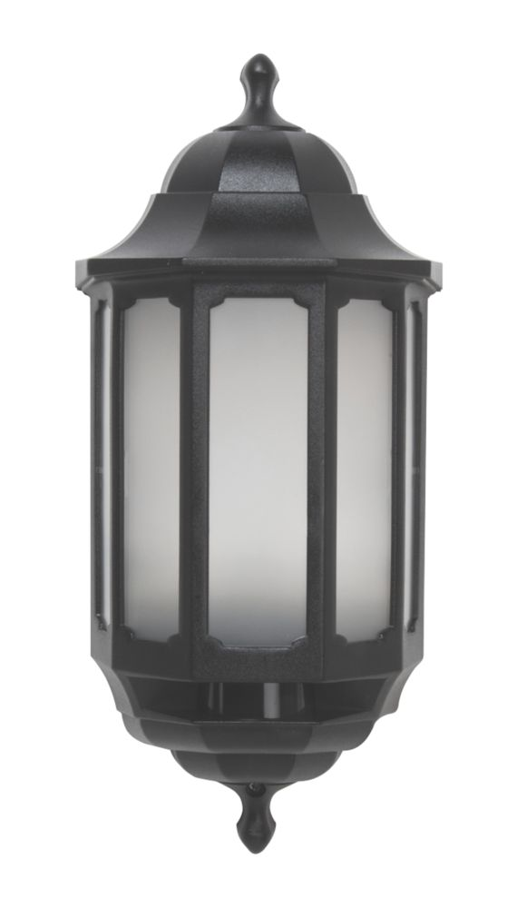 ASD LED Half Lantern Black 8.5W
