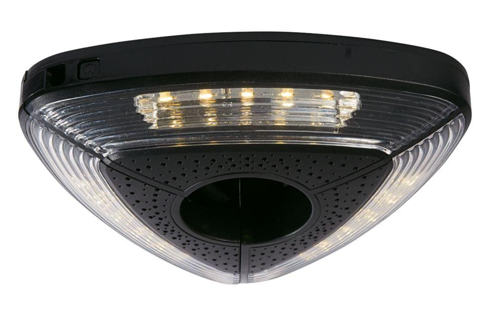 Image of Cole & Bright Gardman LED Parasol Light Black N/AW