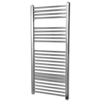 Flomasta Flat Electric Towel Radiator Chrome 1100 x 500mm 853Btu