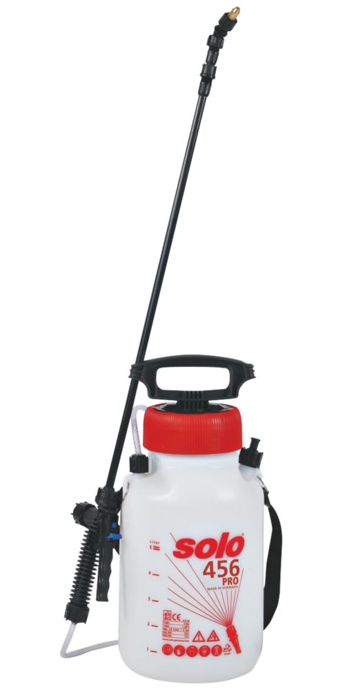 Image of Solo SO456 White Professional Pressure Sprayer with Shoulder Strap 5Ltr
