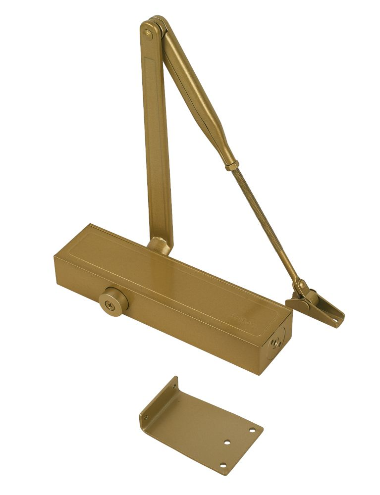 Image of Briton 1120BGES Overhead Door Closer Gold