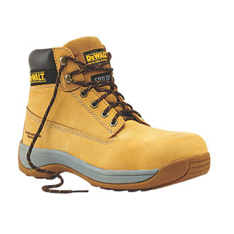 DeWalt Apprentice Safety Boots Wheat Size 8.