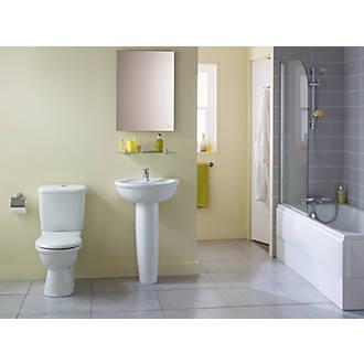Ideal Standard Alto Contemporary Single Ended Bathroom Suite with Acrylic  Bath   Bathroom Suites   Screwfix com. Ideal Standard Alto Contemporary Single Ended Bathroom Suite with