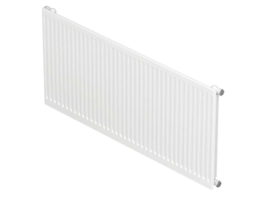 Barlo Round-Top Type 11 Single Panel Convector Radiator Traffic White 500 x 500mm