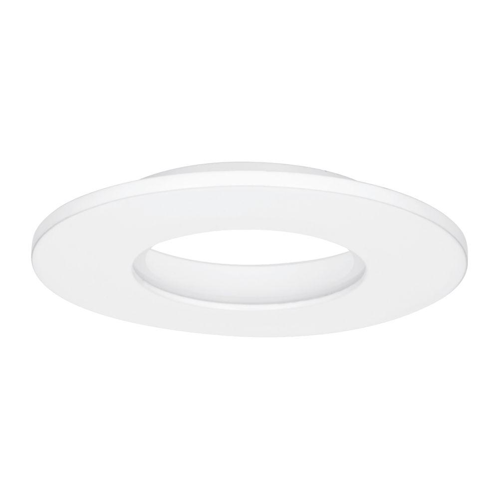 Image of Enlite E8 IP65 Round Downlight Bezel Matt White 85mm