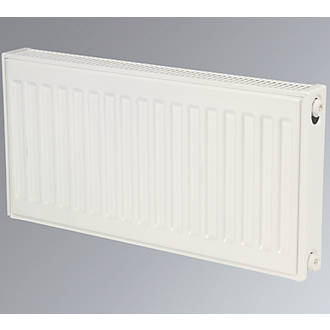 Kudox Premium Double Panel Plus Compact Convector Radiator White 300 x 600mm