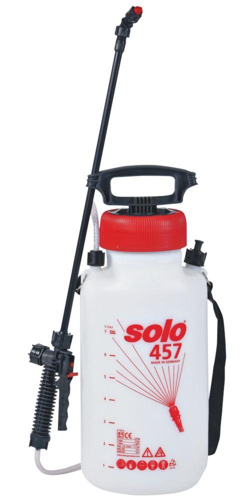 Image of Solo SO457 White Manual Pressure Sprayer 7Ltr