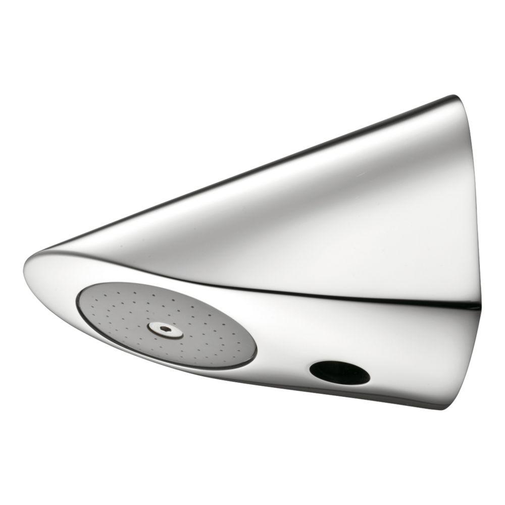 Armitage Shanks Fixed Anti-Vandal Bottom-Fed Shower Head Chrome 111 x 81mm
