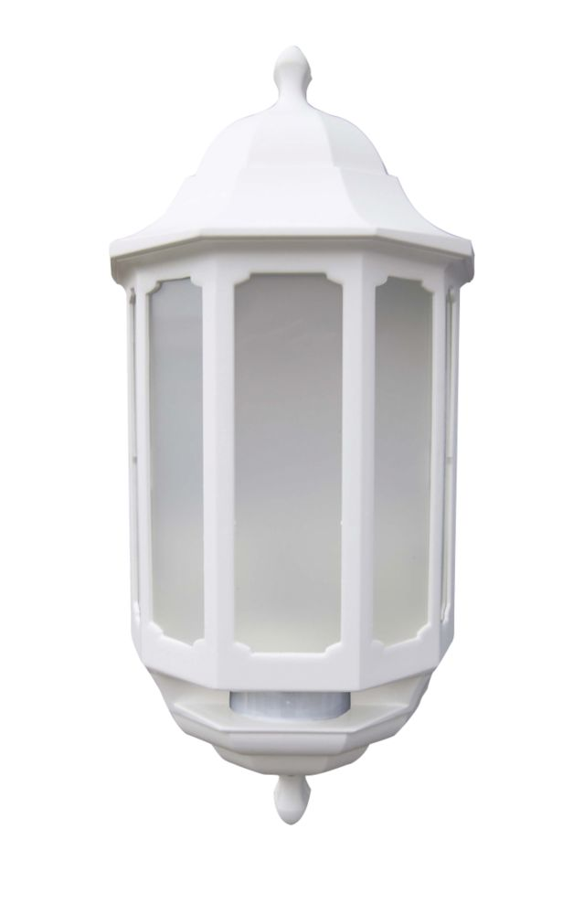 ASD Half Lantern LED with Hi-Lo PIR White 283lm 8.5kW
