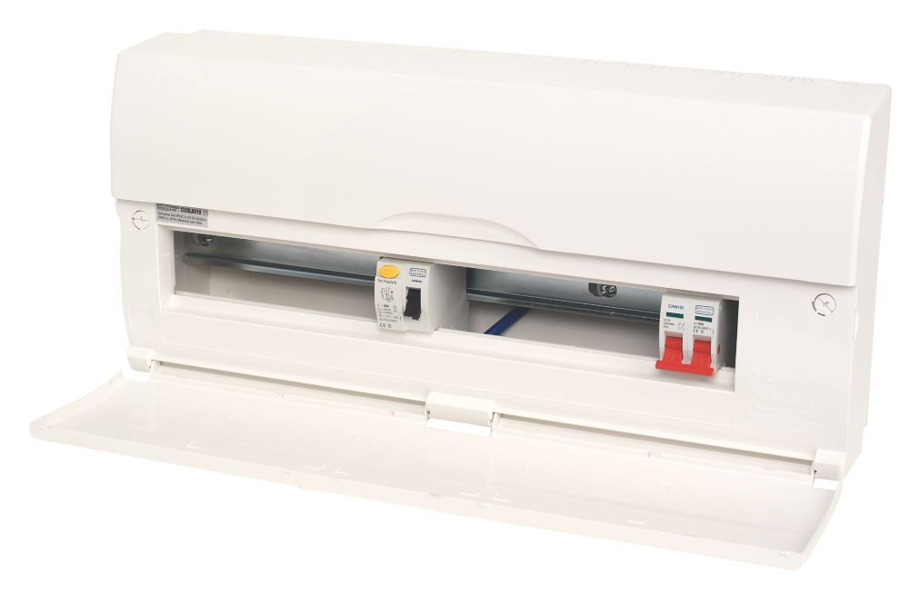 Image of 18-Way Split Load Consumer Unit 80A RCD & 100A Switch