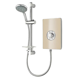 Triton Riviera Manual Electric Shower Sand 8.5kW