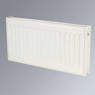 Kudox Premium Type 11 Single Panel Single Convector Compact Convector Radiator White 400 x 700mm