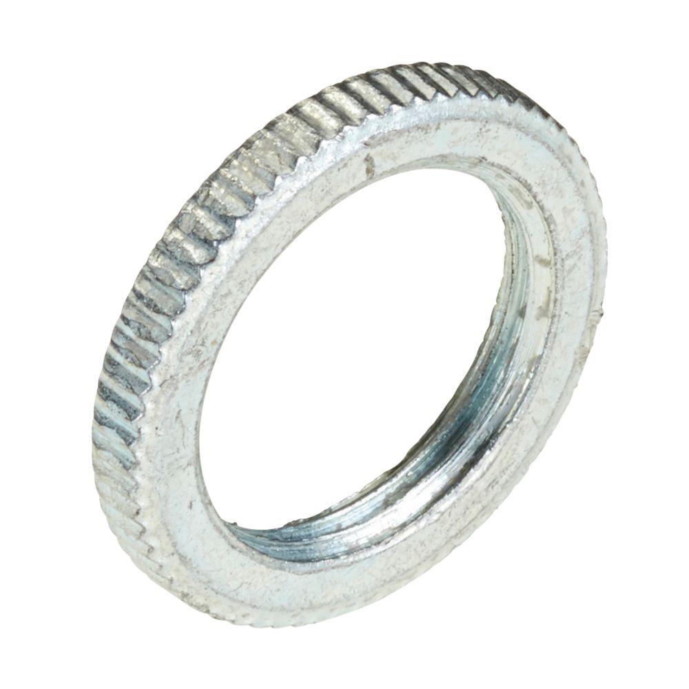 Deta BZP Metal Milled-Edge Lockrings 20mm Pack of 10