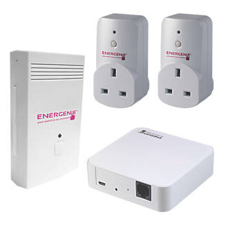 Energenie MiHome Energy Monitor Socket & Gateway Set