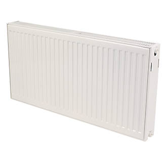 Kudox Premium Type 22 Double Panel Double Convector Convector Radiator White 600 x 1200mm