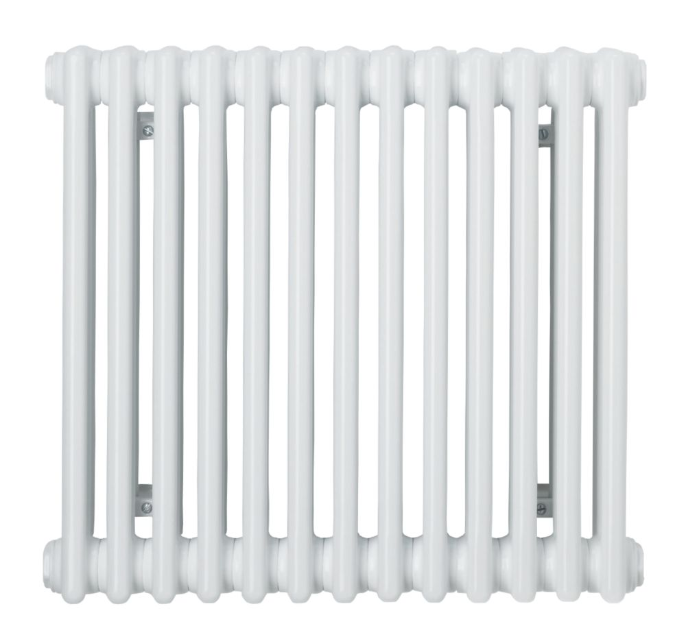 Acova Classic 2-Column Horizontal Radiator White 500 x 628mm 1703BTU