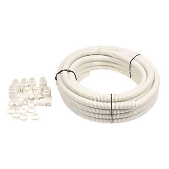 Adaptaflex PVC Convenience Pack Conduit Size 20mm White