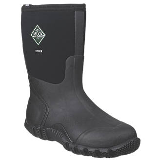 Muck Boots Hoser Classic Non-Safety Wellington Boots Black Size 10