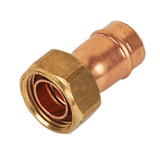 """Yorkshire YPS62 Solder Ring Straight Tap Connector 15mm x ½"""""""