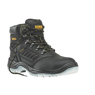 DeWalt Recip Waterproof Safety Boots Black Size 10.