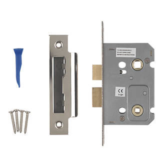 Smith Locke Bathroom Mortice Lock Polished Chrome X