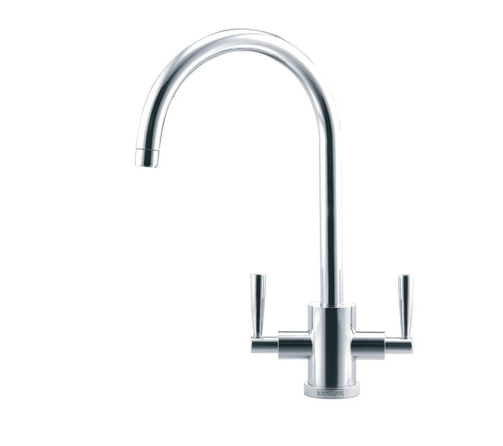 White Kitchen Mixer Tap franke olympus mono mixer kitchen tap chrome | kitchen mixer taps