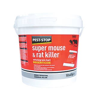 Pest-Stop Super Mouse & Rat Killer 10 Pack