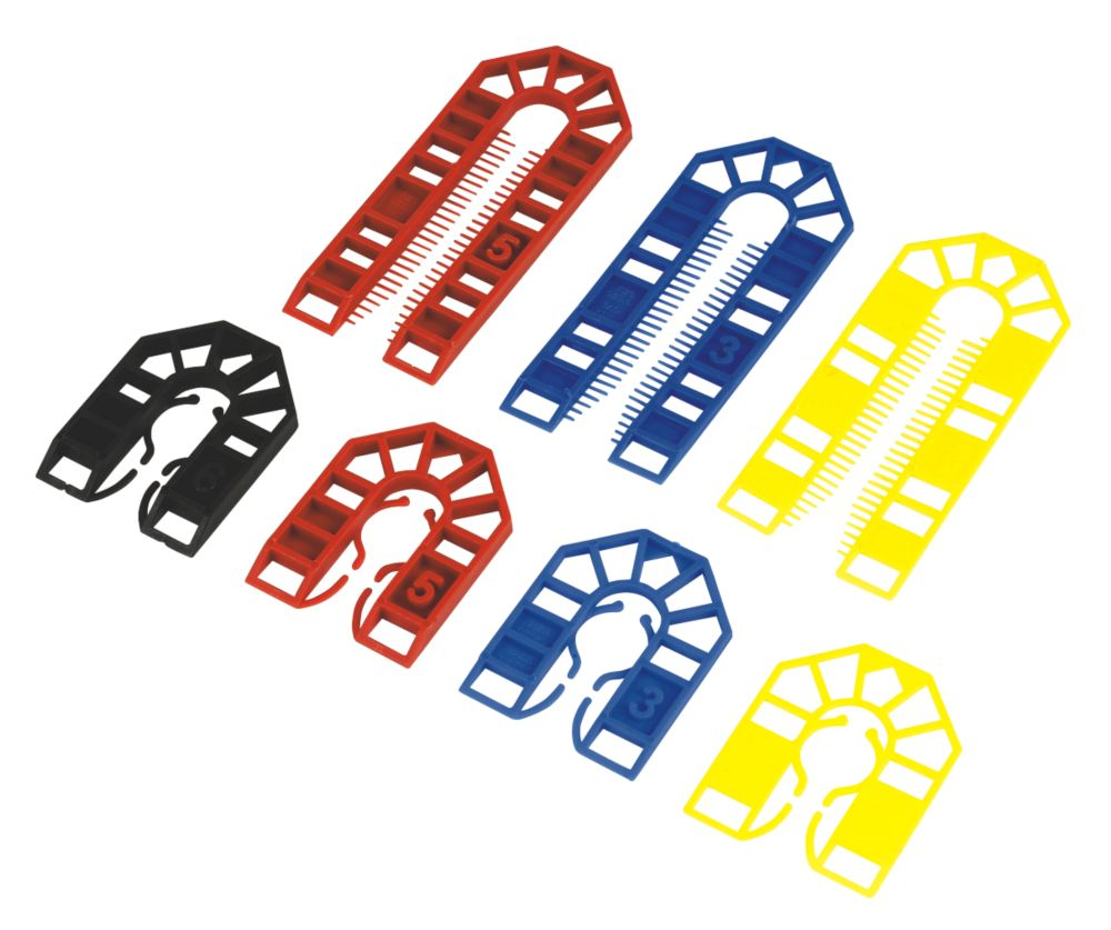 Broadfix Assorted Plastic Shims Medium x x 100 Pcs