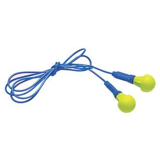 3M Push Ins 38dB Corded Ear Plugs 100 Pairs