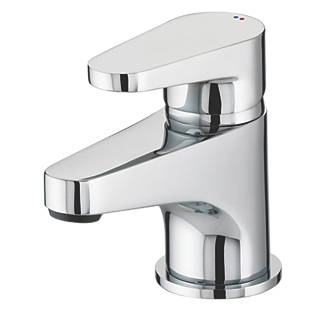 Bristan Quest Bathroom Basin Mono Mixer Tap with Click Waste.