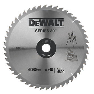 DeWalt DT1161-QZ Circular Saw Blade Stationary 305 x 30mm 48T