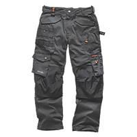 "Scruffs 3D Pro Trousers Graphite 36"" W 32"" L"