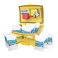 Ultimate Grit Bin Kit Yellow 220Ltr