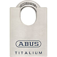 Abus Titalium 96 High Security Closed Shackle Padlock Max. Shackle W x H: 25 x 29mm