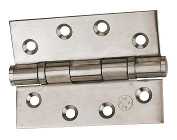 Ball Bearing Hinge Polished Stainless 102mm 1Pr