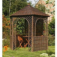 Rowlinson Willow Gazebo 2.48 x 2.15 x 2.65m