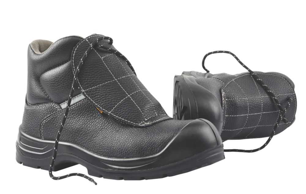 Worksite Armadillo Metatarsal Safety Boots Black Size 8